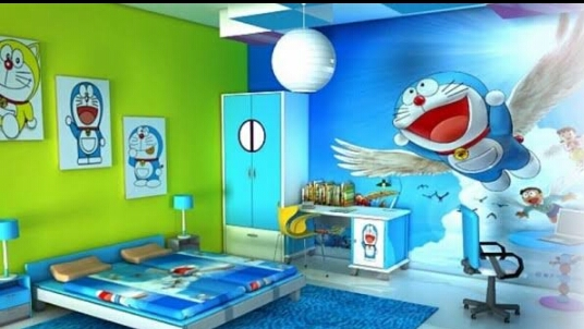 Yu Intip Berbagai Desain Kamar Anak Laki Laki Dengan Wallpaper Harga Bahan Interior